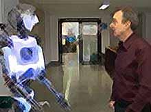 В Испании разработали робота «аватара» или «суррогата». (видео)