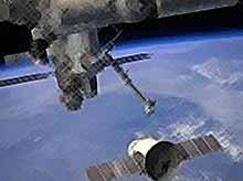 Boeing запускает  космическое такси на орбиту  (видео)