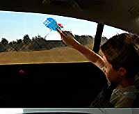 Ученые придумали интерактивные окна для автомобиля (фото.видео)