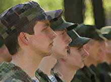 """Службу в армии \""""в рассрочку\"""" начнут уже  в 2013 году"""