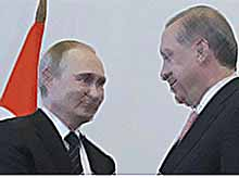 О чем говорили Путин и Эрдоган