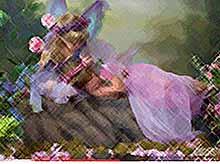Домохозяйка сфотографировала сказочную фею