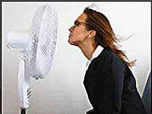 Как пережить жару на работе?