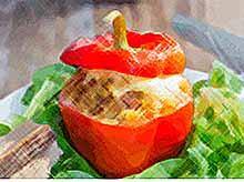 Осенние рецепты: вкусный фаршированный перец