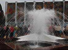 В Тимашевске открыли фонтан «Звезда»