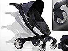 Поступила в продажу роботизированная детская коляска (фото,видео)