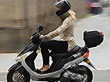 В России могут запретить  скутеры и мопеды.