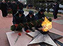 В Тимашевске отметили 72 годовщину освобождения Тимашевского района от фашистских захватчиков