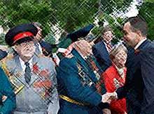 В Краснодаре в параде Победы принияли участие около 100 тысяч человек