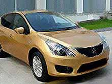 Nissan Tiida оказалась в сети до премьеры