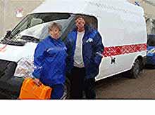 В Тимашевске ЦРБ получила  две современных машины «скорой» помощи