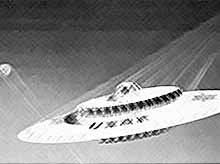 США рассекретили несостоявшийся проект летающей тарелки