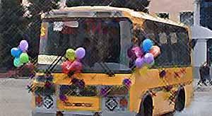 Новые автобусы.