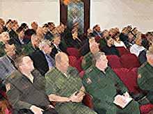 В Тимашевске прошли краевые сборы по организации и проведению осеннего призыва
