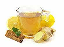 Чай с имбирем и апельсинами