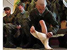 Российская армия  откажется от использования портянок