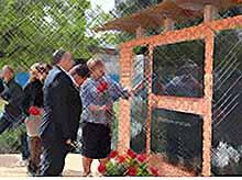 В Тимашевске открыли Стену памяти в честь подвига военных медиков