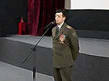 В Тимашевске прошел урок мужества  с Героем России