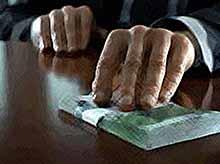 На Кубани средний размер взятки составил 228,4 тыс. рублей