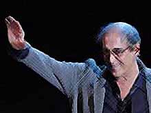 Адриано  Челентано отмечает 75-летний юбилей