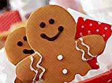 Новогодние рецепты: имбирные человечки на Рождество