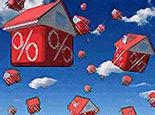Средняя ставка по ипотеке снизилась до 12,44%
