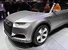 Audi создаст самый компактный кроссовер Junior
