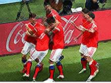 Сборная России по футболу заработала 12 млн долларов на ЧМ-2018