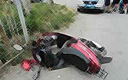 На автодороге Тимашевск Приморско - Ахтарск произошло ДТП,  пострадало два человека