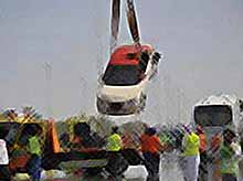Крупнейшая авария в Абу-Даби (видео)