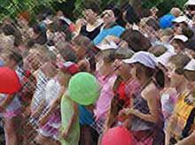 Как в Тимашевске отмечали День защиты детей.