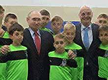Президент  прописал российскому футболу 100-процентное импортозамещение