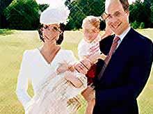 В сети появились официальные фото крестин принцессы Шарлотты