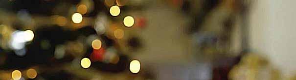 Как украсить новогодний стол: идеи со свечами (фото)