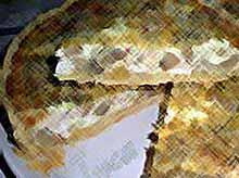 Открытый пирог с курицей и грибами соль,перец