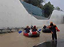 Спасатели эвакуировали из затопленных районов Сочи более 1000 человек