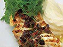 Рыба  запеченая в сырно-сливочном соусе
