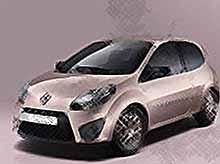 Французы выпустили гламурный Renault для девушек