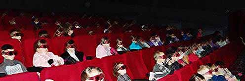 Дети Тимашевска провели каникулы в кинотеатре