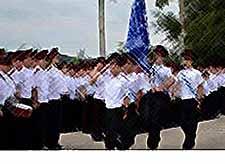 В Тимашевске  1 сентября открылся новый казачий кадетский корпус