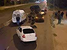 Стритрейсер сбил двух девушек на ночных гонках в Краснодаре