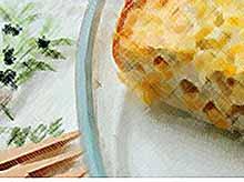 Вкусная сырная запеканка
