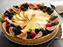 Вкусный яблочный французский пирог