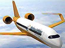 Пассажирский электрический самолет будущего
