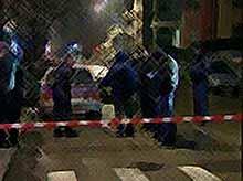 В центре Краснодара  расстреляли легковой автомобиль