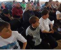 Полицейские Тимашевска дали «урок мужества»