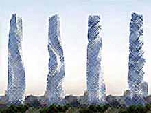 Небоскреб , который не стоит на месте и другие  самые необычные здания в мире  (видео)