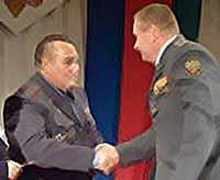 День ветеранов МВД в Тимашевске