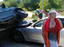 Волочкова попала в ДТП, под Новороссийском, пострадала видео