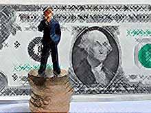Курс доллара вырос на 40 копеек